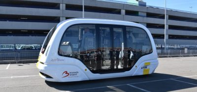Self-driving shuttle embarks on maiden trip at Brussels Airport