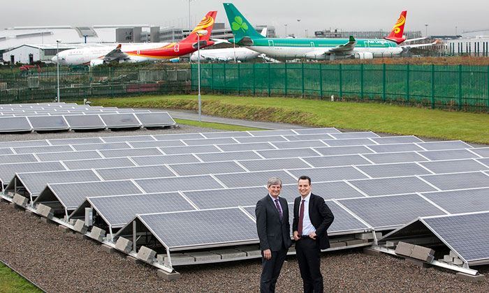 New solar power farm at Dublin Airport to provide half its