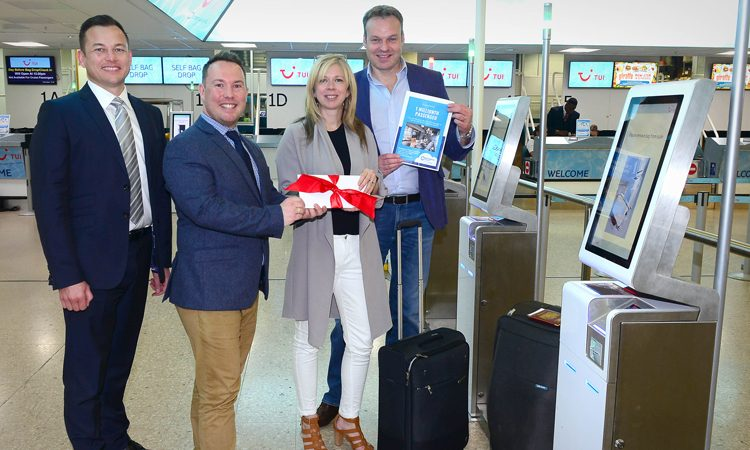 One million passengers use Birmingham Airport's self-service bag drop