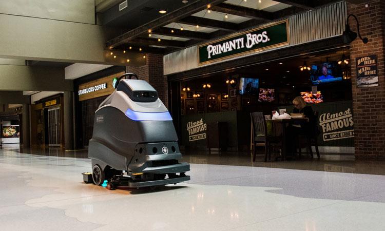 Pittsburgh é o primeiro aeroporto dos EUA a usar limpeza robótica ultravioleta