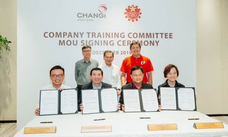Changi Airport Group commits $10 million to upskill employees