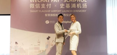 Schiphol is WeChat Pay's becomes first flagship smart airport in Europe