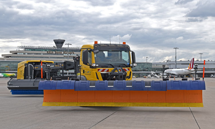 Cologne Airport adds 12 snowploughs to winter fleet